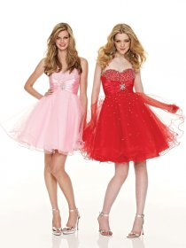 Lovely Sweetheart Beading Sleeveless Organza Graduation Dress