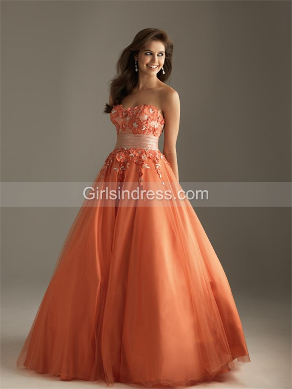 Sweetheart Tulle Over Satin Lace A-line Engagement Dress